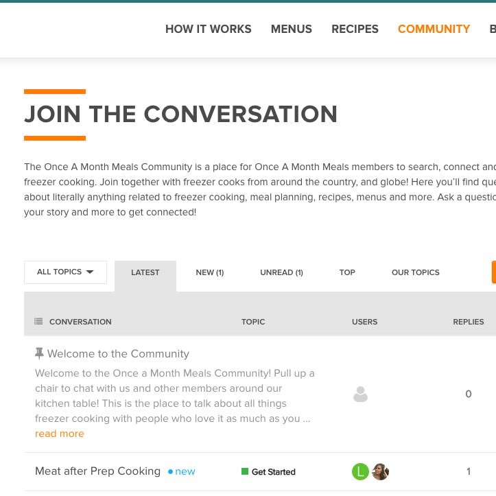 Community: Search